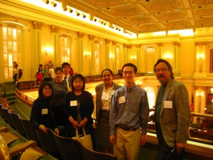 Lobbying with our AAPI Partners in Sacramento