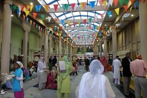 Sangat at Fremont Gurdwara Sahib